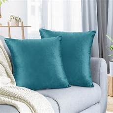 pack of 2 velvet throw pillow covers decorative soft