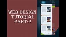 Css3 Design Tutorial Web Design Tutorial Using Html5 Css3 Part 2