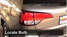2014 Kia Brake Light Bulb Fix A Flat Tire Kia Sorento 2014 2015 2014 Kia