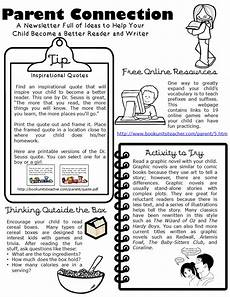 Examples Of Newsletters For Parents From Teachers Book Units Teacher