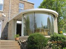 Cubed Glass Windows Curved Window In 2019 Glass Wall Design Curved Glass