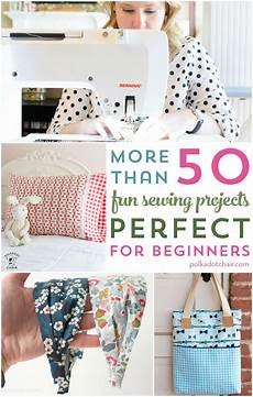 more than 50 easy beginner sewing projects polka