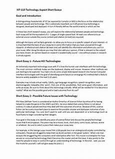 Essay Computer Technology Technology Essay Writing Help
