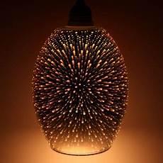 3d Light Shade Dohan 3d Glass Metallic Pendant Shade