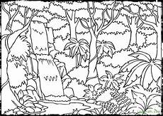 jungle scenery drawing at getdrawings free