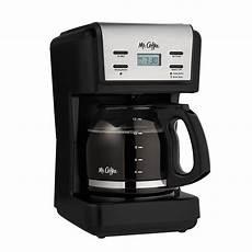 Mr Coffee Clean Light Mr Coffee 12 Cup Programmable Coffee Maker Black