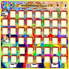 Images Of Attendance Chart Share To