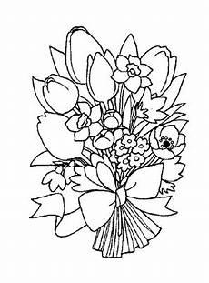 Blumen Malvorlagen Xl Bunter Blumenstrauss 1 Zum Ausmalen Ausmalbilder