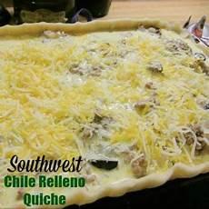 Southwestern Chile Relleno Quiche Recipe Whats Cooking