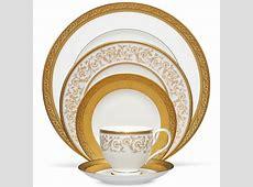 Noritake Summit Gold 60Pc China Set, Service for 12   eBay