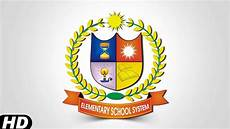 School Logos Design Coreldraw Tutorial How To Make School Logo Design In