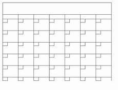 Blank Fillable Calendar Blank Calendar Template In Excel Blank Calendar Template