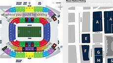 Titans Interactive Seating Chart Nissan Stadium Seating Chart And Parking In Nashville