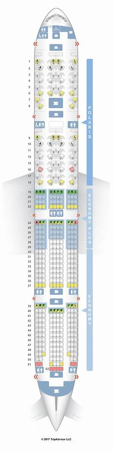 United Airlines Seating Chart 777 International Seatguru Seat Map United Boeing 777 300er 77w