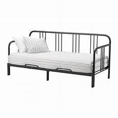 materasso per divano letto ikea fyresdal letto divano con 2 materassi nero malfors