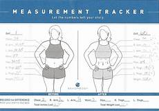 Body Measurement Chart App Body Measurement Tracking Chart