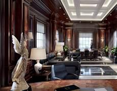 luxury office interior design on behance