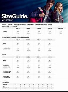 Casual Corner Size Chart Size Chart Long Sleeve Denim Shirt Chino Joggers