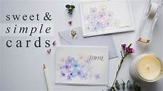 Watercolor Wedding Cards Beautiful 15 Minute Watercolor Greeting Cards Youtube