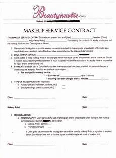 Freelance Makeup Artist Contract Template Freelance Makeup Artist Contract Template Mcafee