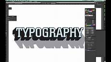 Typography Templates Tutorial How To Make 3d Typography Templates In Adobe