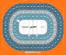 Anaheim Ducks Arena Seating Chart Mradmorrow This Item For Sale