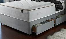 brand new small 4ft divan bed base in grey with