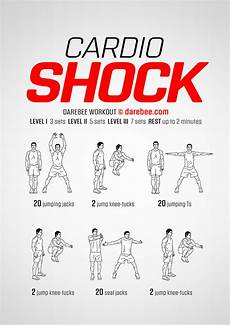 Cardiovascular Exercise Cardio Shock Workout