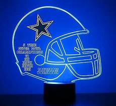 Dallas Cowboys Light Up Dallas Cowboys Nfl Football Light Up Light Lamp Led With