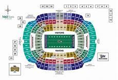 Denver Broncos Club Level Seating Chart Denver Broncos Seating Chart 3d Luxury Baltimore Ravens