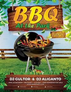 Chicken Bbq Flyer Template Bbq Summer Party Flyer Design Template In Psd Word Publisher