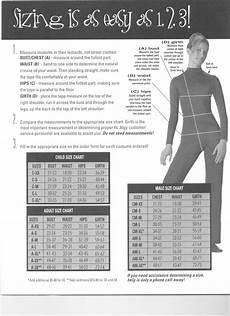 Weissman Costume Size Chart Costume Size Charts