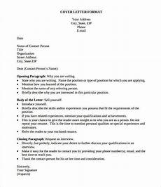 Simple Cover Letter For Resume Samples 54 Simple Cover Letter Templates Pdf Doc Free