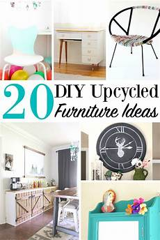 20 diy upcycled furniture ideas home projects recycle items