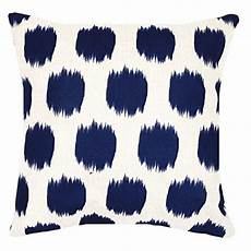 decorative navy blue nautical anchors throw pillow covers