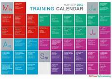 Training Calendars Training Schedule Template Template Business