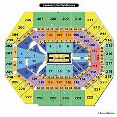 Bankers Life Virtual Seating Chart Bankers Life Fieldhouse Indianapolis In Seating Chart View