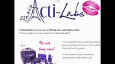 Acti Labs Acti Labs Products Actilabs Reviews And Results Youtube