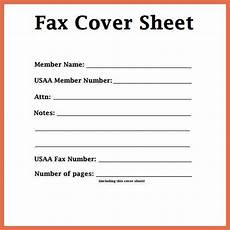 Fax Cover Sheet Blank Fax Cover Sheet