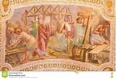 rome italy construction of noah s ark fresco from the