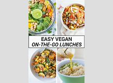 Easy Vegan On the Go Lunches   Fooduzzi