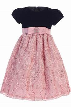 dusty corded tulle dress w velvet