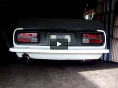 240z Light Conversion Datsun 240z Led Light Conversion Comparison On Vimeo