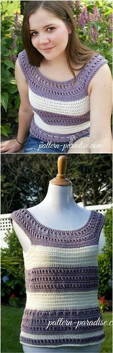 50 easy crochet summer tops free patterns diy
