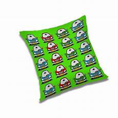 Sofa Pillow Covers 24x24 3d Image by Car Traveling Print Pillow Green 24x24 Quot Polyester