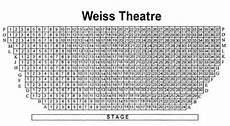 Mandell Theater Seating Chart Mandell Weiss Theatre Seating Chart