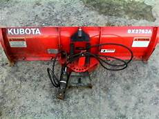 Kubota Bx2763 Snow Plow 1300 Garden Items For Sale