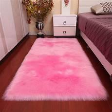 soft large sheepskin rugs faux wool fluffy plush fur