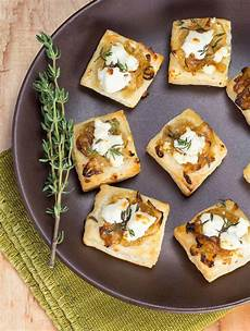 cheese puff pastry appetizers