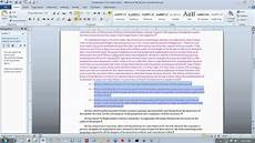 Free Microsoft Word Assessment Test Word2010 Practice Test Youtube